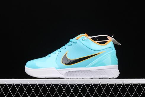Undefeated x Nike Zoom Kobe 4 Protro White Blue Orange CK2597-001