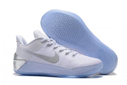Nike Zoom Kobe 12 AD White Silver Men Basketball Shoes - Febshoe