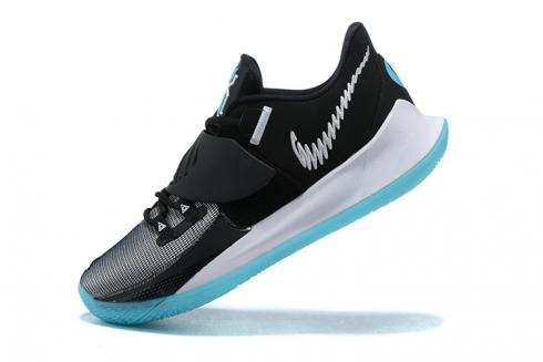 2020 Nike Kyrie Low 3 EP Black White Grey Jade Ivring Basketball Shoes CJ1287-001