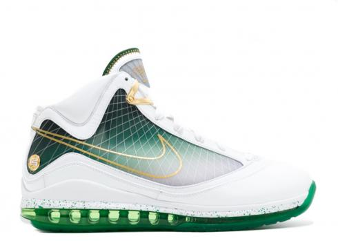 Lebron 7 Pe Svsm Home Gold White Green SP10MNBSKT628176842