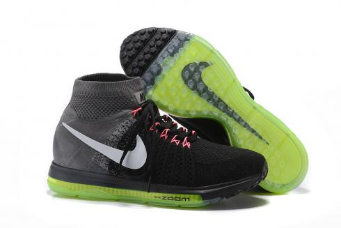 Nike Zoom All Out Flyknit Black Wood