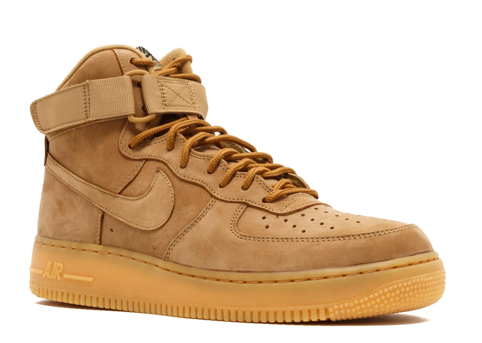 Mens – Nike Air Force 1 High '07 LV8 WB FlaxFlax Outdoor