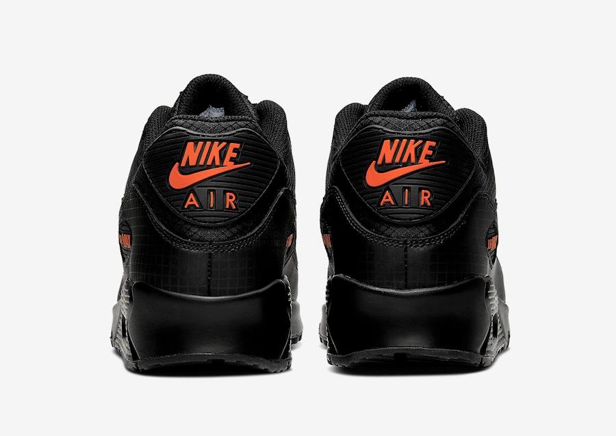 air max 90 black orange, OFF 70%,Best
